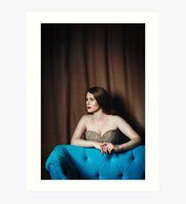 Luxury Woman Portrait Art Print