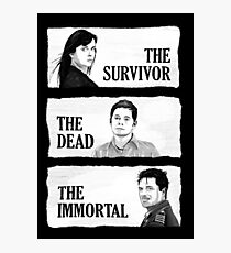 Torchwood - The Survivor, The Dead, The Immortal Photographic Print