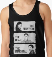 Torchwood - The Survivor, The Dead, The Immortal Tank Top