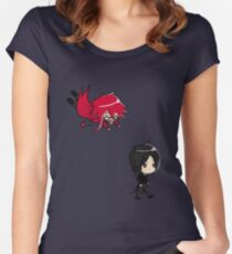 Oh Bassy! ~  Women's Fitted Scoop T-Shirt