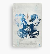 GANESHA art print Canvas Print
