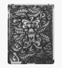 Facepage 02 Psychedelic Poster  iPad Case/Skin