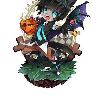 Halloween Anime by nicholax11