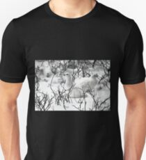 Ptarmigans in the Arctic Willow, Churchill, Canada  Unisex T-Shirt