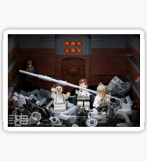 Death Star Trash Compactor Sticker