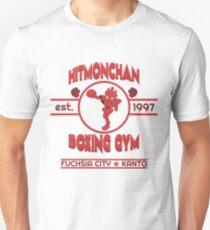Hitmonchan Boxing Gym   Red T-Shirt