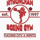 Hitmonchan Boxing Gym | Red by RJ Balde