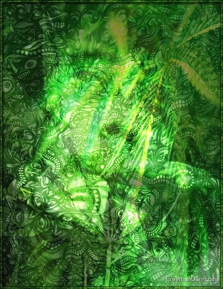Bob Marley Tribute Poster by FreemanDan-com