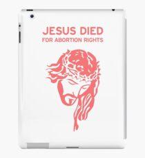 Pro-Choice Jesus iPad Case/Skin
