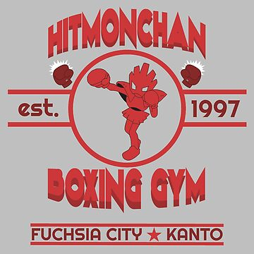 Hitmonchan Boxing Gym | Red by RJtheCunning