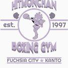 Hitmonchan Boxing Gym | Purple by RJ Balde