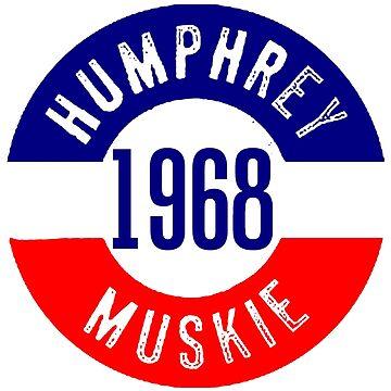 HUMPHREY/ MUSKIE-2 by IMPACTEES