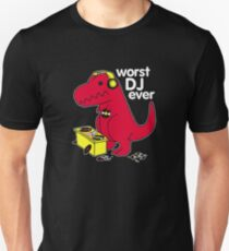 T Rex Is the WORST DJ T-Shirt
