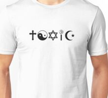 Religion Is Toxic Freethinker Unisex T-Shirt