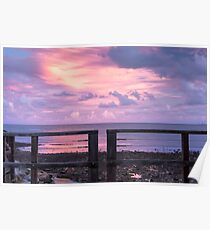 Woody Point Jetty at sunset Poster