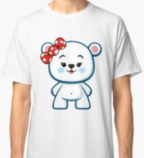 Polar Bear Girl Kawaii Classic T-Shirt