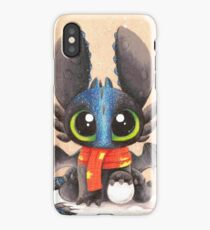 Baby Alpha Ohnezahn (winter) iPhone Case/Skin