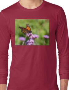 Autumn Beauty! - Monarch Butterfly - Otago - NZ Long Sleeve T-Shirt