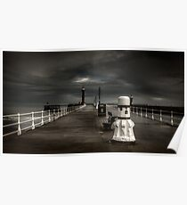 Whitby Pier Poster