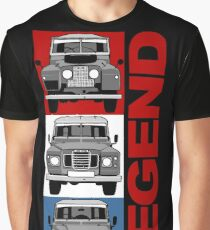 Land Rover Discovery evolution Graphic T-Shirt