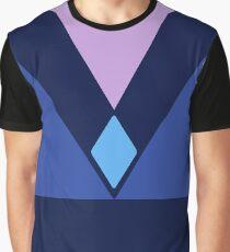 Quick Cosplay: Amethyst Solider Blue Diamond Uniform  Graphic T-Shirt