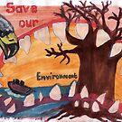 Saving our Environment: Oceans & Fauna by Riekert Maritz (Krog)