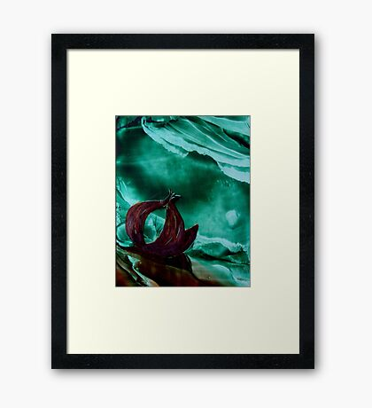 The onion Framed Print
