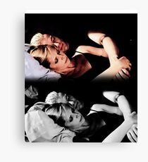 Buffy and Spike - Buffy the Vampire Slayer Canvas Print