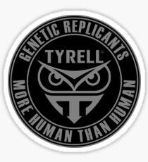 TYRELL CORPORATION - BLADE RUNNER (GREY) Sticker