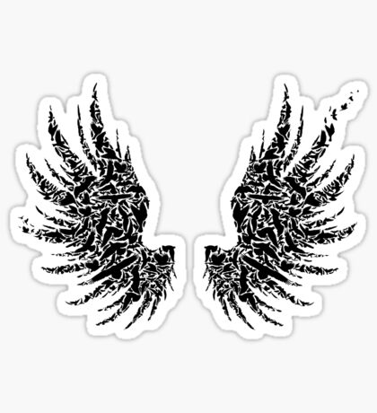 Bird Wings Sticker