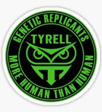 TYRELL CORPORATION - BLADE RUNNER (GREEN) Sticker