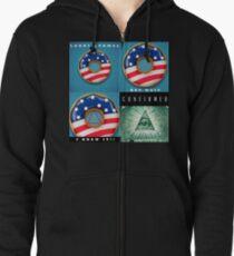 Illuminati Confirmed Zipped Hoodie