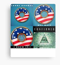 Illuminati Confirmed Metal Print