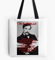 And I Beheld - HG Wells Tote Bag