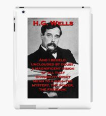 And I Beheld - HG Wells iPad Case/Skin