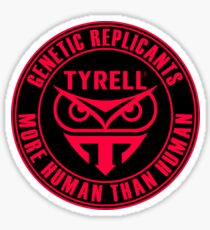 TYRELL CORPORATION - BLADE RUNNER (RED) Sticker