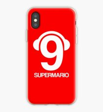 Supermario Balotelli with headphones iPhone Case