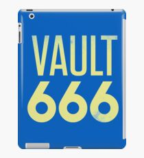 Vault 666 - The Most Metal Vault In All The Wasteland iPad Case/Skin