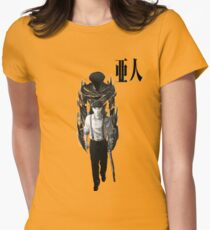Satou Womens Fitted T-Shirt