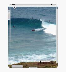 Surfing at Lennox Head iPad Case/Skin