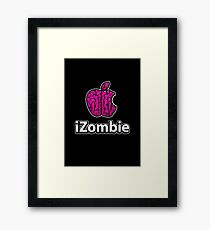 Apple iZombie -pink- Framed Print