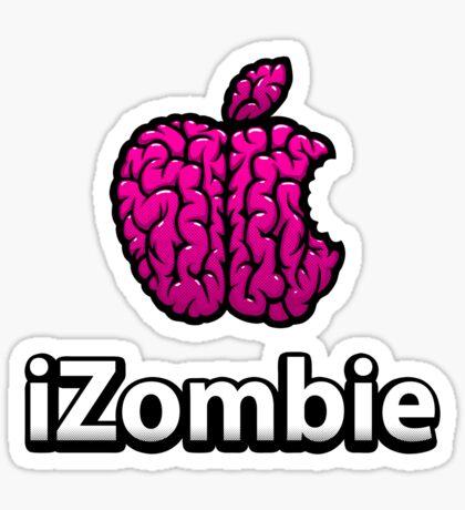 Apple iZombie -pink- Sticker