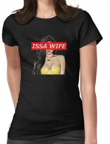ISSA WIFE - Kylie Jenner Womens Fitted T-Shirt