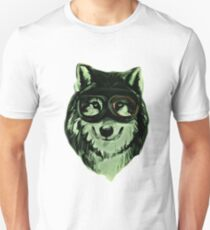 Wolf Hipster ANimal Wolves Unisex T-Shirt