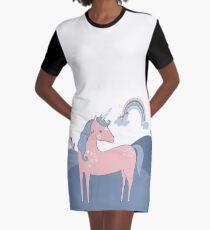 Unicorn Hills Graphic T-Shirt Dress