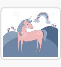Unicorn Hills Sticker