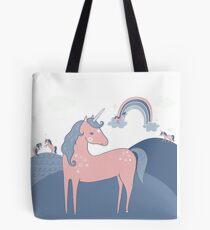 Unicorn Hills Tote Bag