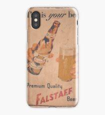 Old Beer Billboard iPhone Case/Skin