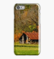 The Barn in Boxley Valley iPhone Case/Skin