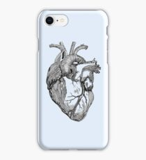 An anatomical heart iPhone Case/Skin